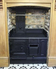 Shacklock Orion, Coal Range - Would love to have one of these in my kitchen (especially the wetback option - byebye hot water bills!!)