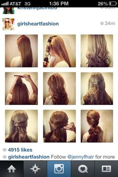 Quick and easy formal hair