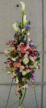 Funeral Flower Arrangements, Memorial Flowers, Sympathy Gifts, Fuji, Floral Design, Floral Patterns
