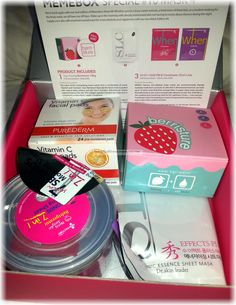 Memebox Special #10 Mask Edition 4 Review #memebox