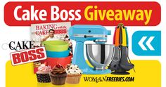 Win A Stand Mixer In The Cake Boss Giveaway which you can whip up anything your imagination can create!