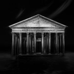 The Pantheon is a building in Rome, Italy, commissioned by Marcus Agrippa during the reign of Augustus and rebuilt by the emperor Hadrian about 126 AD. Fine Art Photo, Photo Art, Office Art, Ancient Romans, Unique Photo, Conceptual Art, Cool Artwork, Contemporary Art, Abstract Art