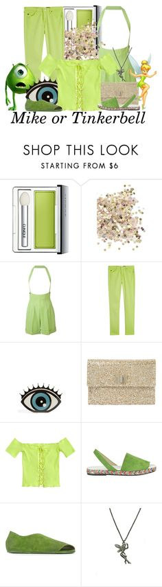 """""""DM nerds"""" by aksmasads ❤ liked on Polyvore featuring Clinique, Topshop, Jean-Paul Gaultier, AG Adriano Goldschmied, Disney, Charlotte Olympia, Anya Hindmarch, Balearmania, Marsèll and Zara Taylor"""