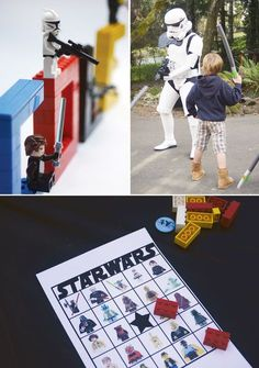 "star wars party pictures | Creative Lego Star Wars Party + DIY ""Death Star"""