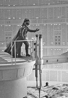 On the set 1980 … 'Star Wars: Episode V - The Empire Strikes Back', directed by Irvin Kershner.