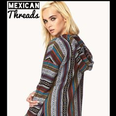 Indian Baja Hoodies - Mexican Threads from Mexican Threads. Saved to sweater weather. Baja Hoodie, Sweater Weather, Cute Outfits, Sari, Bohemian, Indian, Fashion Outfits, Hoodies, Clothes For Women