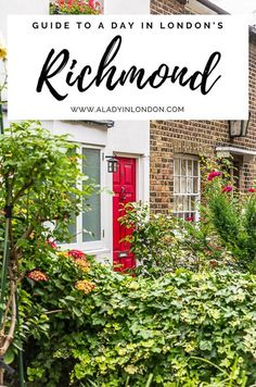 This guide to things to do in Richmond, London will show you everything from Ham House to Richmond Park and the River Thames. The historic London pub on Richmond Green and Richmond, London houses feature, too. #richmond #london