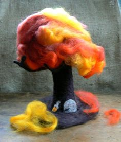 Needle Felted Tree Waldorf Changes with by CloudBerryCrafts, $74.00