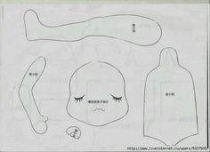 Mimin Dolls: padrão doll japonês