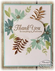 Stampin Up! cards, classes, 3-D items
