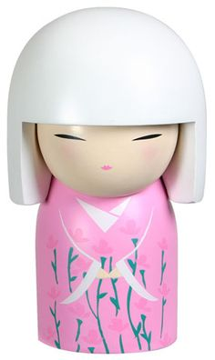 """Kimmidoll™ Miyuki - 'Peaceful' - """"My spirit brings harmony and happiness. By emulating my spirit in all that you do and say, you release my power. Your peaceful approach to life will help to bring harmony and happiness to the world."""""""
