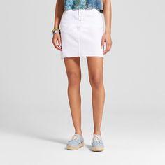 Women's Denim Skirt - Mossimo Supply Co. White 6