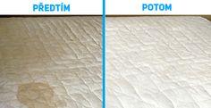Efektivní způsob jak odstranit skvrny od moči z vaší matrace