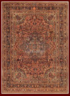 ANTIQUE DOROSH CARPET IRAN - 331 X 248 CM - 10.86 X 8.14 FT - COD. 140628458026