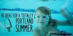 """A family-friendly summer bucket list to end all cries of """"I'm bored! Craft Activities For Kids, Projects For Kids, Outdoor Activities, Kid Crafts, Portland With Kids, Portland Hotels, Kid Friendly Restaurants, Parent Resources, Summer Bucket Lists"""