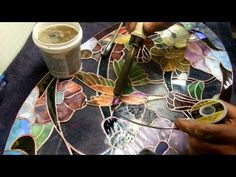 Dichroic Stained Glass soldering 001a