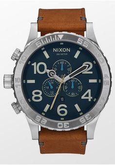 339,95 € The 51-30 Chrono Leather von NIXON