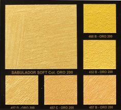 Gold colors (Valpaint Sabulador Soft)