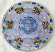 Seder Plate Hand Made Seder Plate. Passover Seder Plate. Pesach Seder Plate . & Paper plates for Passover 25 Paper Seder Plates Pesach plates for ...