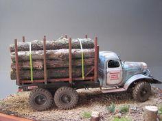Finished models and slides Rc Trucks, Tow Truck, Custom Trucks, Model Truck Kits, Model Kits, Fargo Truck, Sci Fi Models, Plastic Model Cars, Rc Crawler