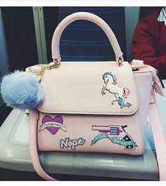 Interesante bolso de moda femenina extravagante inusual mochila879