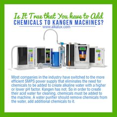 Is It True that You have to Add Chemicals to Kangen Machines? | Visit our official website for more info: http://www.alkalux.com