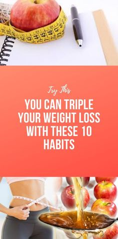 You Can Triple Your Weight Loss With These 10 Habits - Informationen zu You Can Triple Your Weight Loss With These 10 Habits Pin Sie können mein Profil g - Health And Fitness Articles, Health And Nutrition, Health And Wellness, Healthy Habits, Healthy Tips, Healthy Recipes, Wellness Fitness, Health Fitness, Macaron Foie Gras