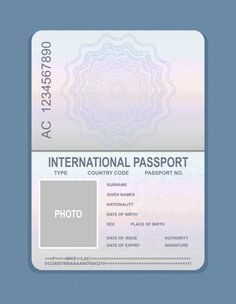 Discover thousands of Premium vectors available in AI and EPS formats Passport Template, Passport Stamps, International Passport, Pink Floyd Art, Credit Card Hacks, Whatsapp Text, Travel Stamp, Passport Online, Free Vector Art