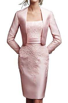 Angel Bride Exquisite Satin Mother of the Bride/Evening Dress Short with Jacket on sale #Mother-Of-The-Bride-Dresses http://www.weddingdealusa.com/angel-bride-exquisite-satin-mother-of-the-brideevening-dress-short-with-jacket-on-sale/11359/?utm_source=PN&utm_medium=jillweddings+-+mother+of+the+bride&utm_campaign=Wedding+Deal+USA