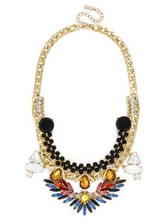 Would love to figure out how to make this fit into my wardrobe. #baublebar Bird of Prey Bib $44