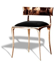 Paul Mathiue for Ralph Pucci. Ralph Pucci Chair  contemporary trend- klismos update
