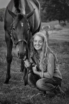 A girl and her horse by Ben Mooney, via 500px