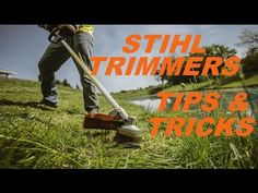 Stihl Trimmer: 10 Must Know Tips & Tricks - YouTube