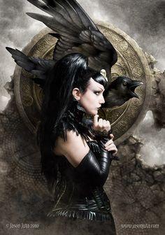 Morrigan Goddess | All these aspects make her a mother, a seeress, a warrior, a banshee ...
