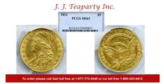 JJ Teaparty Inc. has this item on Collectors Corner - 1812 $5 Gold MS61 PCGS
