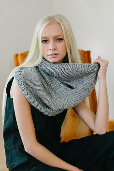 Treat yourself to cashmere and cozy up with this super soft cowl on a chilly day. This cowl has two slits – but don't worry, you'll stay warm. Eris is worked seamlessly in the round and knits up quickly. Knit one for yourself, then knit one for someone you love.
