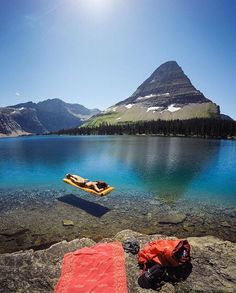 Wow! Gorgeous place and awesome shot. Hidden Lake, Logan Pass Montana *photo by: travisburkephotography