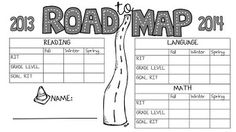 SCHOOL YEAR STUDENT MAP DATA ORGANIZER ROAD TO MAP TEST SUCCESS - TeachersPayTeachers.com
