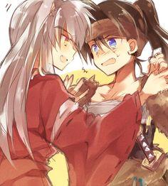 Inuyasha and Kouga~Rivals or Friends