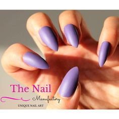 Stiletto Nails, Oval Nails or Square Nails ($8.99) ❤ liked on Polyvore featuring beauty products, nail care and nails