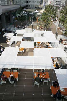 Landscape Plaza, Landscape Architecture, Landscape Design, Forest Cafe, Pocket Park, Tent Design, Outdoor Cafe, Rooftop Garden, Parking