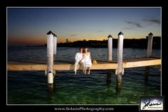 dock at sunset  by Solaris