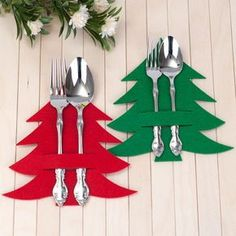 silverware holder green laser pine tree felt etsy cut 708 18 cm Green laser cut pine tree felt silverware holder 18 cm 708 EtsyYou can find ideas para navidad and more on our website Felt Christmas, Homemade Christmas, Simple Christmas, Christmas Holidays, Christmas Ornaments, Christmas Tables, Christmas Fabric, Modern Christmas, Scandinavian Christmas