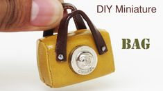 DIY Realistic miniature CHANEL Bag 2018 - Miniature crafts ideas