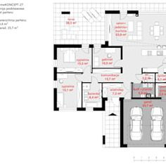 Here you will find photos of interior design ideas. House Layout Plans, House Layouts, Floor Plans, House Design, How To Plan, Interior Design, Ideas, Home Exterior Design, Modern
