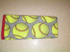 Fastpitch Softball Soft Reading Eye Glass Pouch by SoftballFever, $7.95