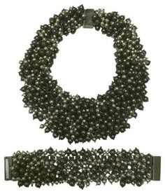 Neiman Marcus Beaded Necklace & Bracelet - don't they look fun to wear?!