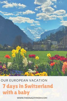 Switzerland is one of the most awe inspiring and naturally beautiful place in the world. Check out the best places to visit in Switzerland in April with a baby.  #travel #travellingwithfamily #vacations #europe #switzerland #travelgoals #summerbreak
