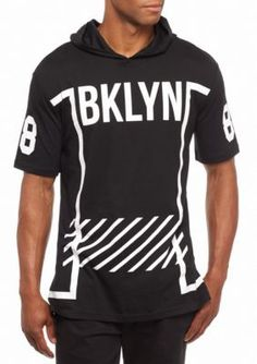 Masterpiece  Short Sleeve Brooklyn Graphic Hooded Tee