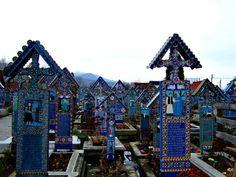 Merry Cemetery — Sapanta, Romania | 15 Drop-Dead Gorgeous Cemeteries From Around The World